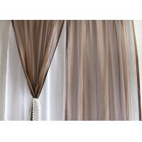 Soft / Lightweight Fabric Dining Room Curtains 100% Polyester Dry Clean Only Manufactures