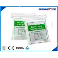 China BM-7021 Hot Sale Good Qulaity 100% Cotton Bleached Triangular Bandages for Wound Fixing on sale