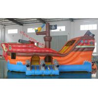 inflatable pirate boat giant inflatable  pirate ship inflatable slide Manufactures