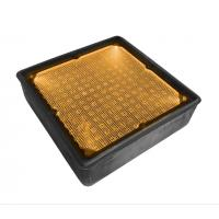 Quality 8x8 inch Square Solar Pathway Recessed Lights Solar Underground In-Ground Lamp for Piazza Golden Resort Drive Way White for sale