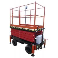 11M Electrical Mobile Scissor Lift , 300Kg Scissor Lift Platform Manufactures