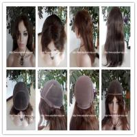 "100% Human hair full lace wig 10""-26""L 4#color curly indian remy hair,120%-180% density Manufactures"