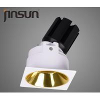 China 55mm 7W Dimmable LED Downlights With Golden Reflector Anti Glare 61*61*H85mm on sale