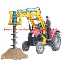 Pole Erecting Auger Hydraulic Power Pole Erection Drilling Machine Manufactures