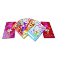 Quality Custom Gloss Artpaper Postcard Book Printing Services , Foil Stamping Embossing for sale