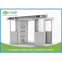Class 100 Clean Room Lab Equipment , Goods Air Shower Passage For Food Factory Manufactures