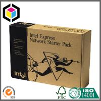 Black Color Flexo Print Corrugated Cardboard Carton Shipping Box; Mailing Box Manufactures