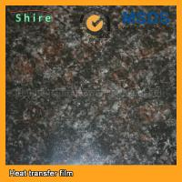 Thermal Transfer Marble Effect Film Film , NON Toxic Decorative Wall Film Manufactures