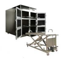 ROUNDFIN morgue six body mortuary refrigerator/6 corpse morgue freezer for sale Manufactures