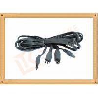 Y Type Safety 2.35+Power to 3 Pin Tens Unit Cables OEM / ODM Manufactures
