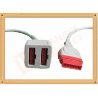 11 Pin To 11 Pin GE Dual IBP Cable / IBP Converter Cable 35CM Manufactures