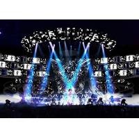 P5.9 Mobile Indoor LED Display Screen Rental Low Power Comsumption , Event Screen Hire Manufactures