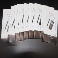Black / White Binding Small Booklets ,Saddle Stitch Magazine For Product Instruction Manufactures