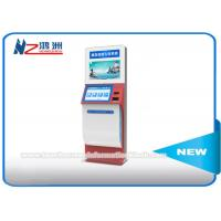 """21"""" Stand Alone Check In Lobby Kiosk , Touch Screen Computer Kiosk Cabinet Manufactures"""