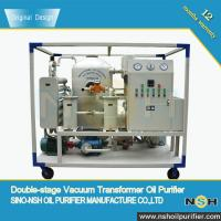 China VFD Vacuum Transformer Oil Degassing Device Made In China With Stainless Steel and Available Color on sale