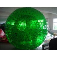 Green Exciting Inflatable Walking Ball Bang Bead / Zorb Ball for Backyard Manufactures