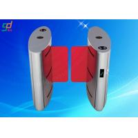 Swing Barrier Turn Style Door , Automatic Turnstile Barrier Gate Control System Manufactures