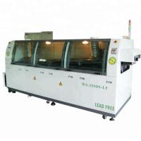 China SMT Assembly Model Wave Soldering Machine , Mini Wave Soldering Equipment on sale