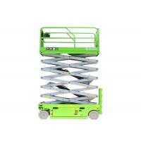 Hydraulic 13m scissor Elevated Aerial work platform with load capacity 320kg for indoor maintanence Manufactures