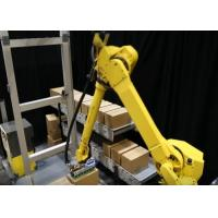 Flexible Robot Automated Palletizer With Palletizing Programs Adjustable Manufactures