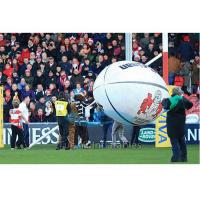 Helium Filled Advertising Balloon / Sport Sponsor Balloon With Logo Printing Manufactures