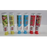 Quality Plastic Children Toothpaste Containers Doctor Cap / Top Sealed Diameter 30 for sale