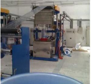 Pillar Under Electric Lift Pvc Film Manufacturing Machine Φ80-Φ90mm Die Mould Manufactures