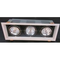 COB LED Triple grille light 3*25W with RA>80 3*2200 lm 4000k dimmable with 3 years warrant Manufactures