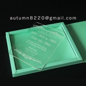 B IC (9) deep impress wedding card Manufactures