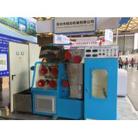 AC 15KW Wire Drawing Machine Ceramic Cone 1500mpm DC Three Section Annealing Manufactures