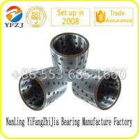 Self lubricating bearing graphite inlaid solid lubricating steel bearings,steel sleeve Manufactures