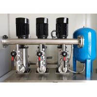 China Domestic Water Pressure Booster System , Water Booster Pump For Sprinkler System on sale