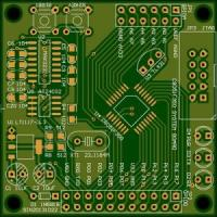 Buy cheap FR4 Material Multilayer PCB 4- Layer Surface Finish ENIG Industrial Control from wholesalers
