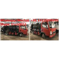 HOT SALE! customized SINO TRUK HOWO 4*2 RHD 4.5m3 garbage compactor truck,HOWO Light duty refuse garbage truck, Manufactures