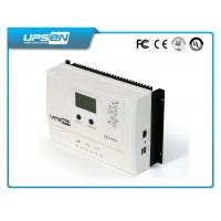 15A 20A 30A MPPT LCD solar charger controller with USB , street lights controller Manufactures