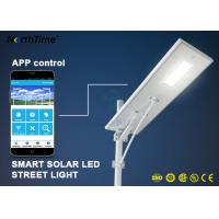 Dimmable Solar Energy Motion Sensor IP65 70W LED Street Lights Charge Controller Manufactures