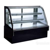 Commercial Refrigerator Cake Showcase 900x750x1200mm Tempered Glass Marble Base Manufactures