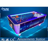 Electronic Video Game Machine Air Hockey Arcade Machine Attractive Lights Metal Material Manufactures