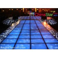 Energy Saving Interactive Led Dance Floor / Led Video Dance Floor T Show Manufactures