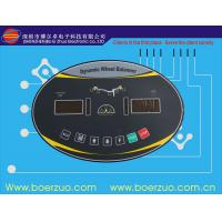 Quality Waterproof Printing Machine Membrane Touch Switch With 3m Adhesive for sale