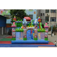 Fireproof Cars Inflatable Sports Games Inflatable Amusement Park Funny Manufactures