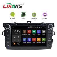 Left Hand Driving Multimedia Toyota Car DVD Player With MP3 MP4 DVR AUX Manufactures
