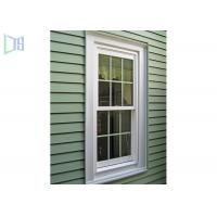 Quality High Durability vertical sliding aluminium windows Double glazed with grilles for sale
