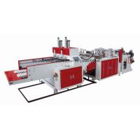 High Performance T - Shirt Bag Manufacturing Machine 450pcs / Min Per Line Manufactures