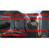 hot sale 20tons lpg gas canister filling plant, best price 20,000kgs mobile skid lpg gas refilling station for sale Manufactures