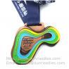Metal sport medal factory China, enamel metal medallion manufacturer directly Manufactures