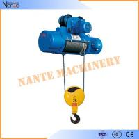 Quality High Speed Monorail 3 Phase Electric Wire Rope Hoist 20 Ton 0.5~8m/min for sale