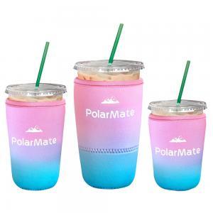 Reusable Neoprene Iced Coffee Cup Insulator Sleeve Manufactures