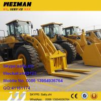 brand new wheel loader sdlg LG958L with pallet forks,  front in loader  made in volvo factory china for sale Manufactures