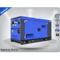 Water - Cooled Blue Diesel Canopy Generator Set 12 Cylinder For Industrial Manufactures